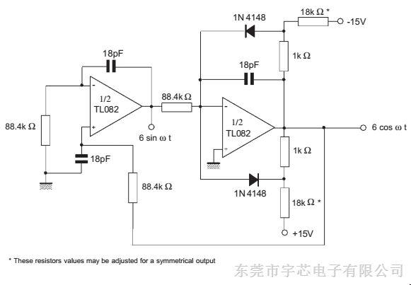 华冠j-fet双运算放大器 tl082 dip-8/sop-8