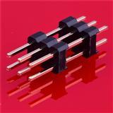 环保2.54双排直插排针