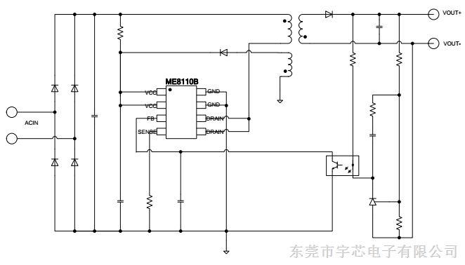 捷配电子市场网 元器件 电源ic 其他电源ic  内置650v/2v功率超低启动