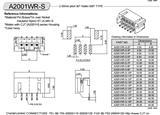 2.0卧贴,线对板连接器,20022WR-09A00同等品,欢迎咨询