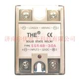 THE无锡天豪安装式单相交流固态继电器 SSR48-30A  全新原装 30A