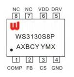 winsemi/稳先微 LED恒流控制芯片 WS3130 SOP8