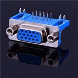 VGA连接器厂家 母头DB15连接器生产厂家