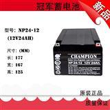CHAMPION NP200-12蓄电池/冠军蓄电池价格报价