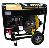 190A柴油发电电焊一体机电启动户外移动电焊机NK-6500DW