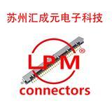 I-PEX 20389-Y30E-02 LVDS 30P板端连接器