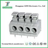 DG235 免螺丝接线端子 弹簧式端子台 免螺丝端子台 弹簧式接线端子