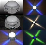 LED十字星光灯 新款LED十字壁灯 户外防水壁灯装饰灯具