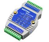 宇泰 UT-5508 i/o模拟量输入模块8通道数字量输入转485转换器