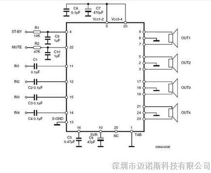 tda7388原装正品 频功率放大器