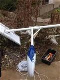 阳泉新款太阳能路灯LED高杆灯楷举生产安装维修厂家