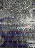 国产旋转编码开关  EC11 柄长15MM  梅花头带螺丝垫片