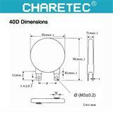 40mm压敏电阻,陶瓷压电元件,40D突波吸收器