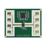 24GHz微波测距雷达 24G雷达 人体感应器 物位雷达 demo FMCW