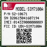 simcom原厂正品 sim7100A 全网通4G工业级模块