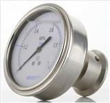 F0螺纹式隔膜表M20X1.5膜片压力表