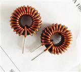 定制铁硅铝大功率磁环电感 节能灯振流器专用