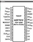ADI专营ADF7012BRUZ-RL7  多通道ISM 频段FSK/GFSK/OOK/GOOK/ASK 发射机