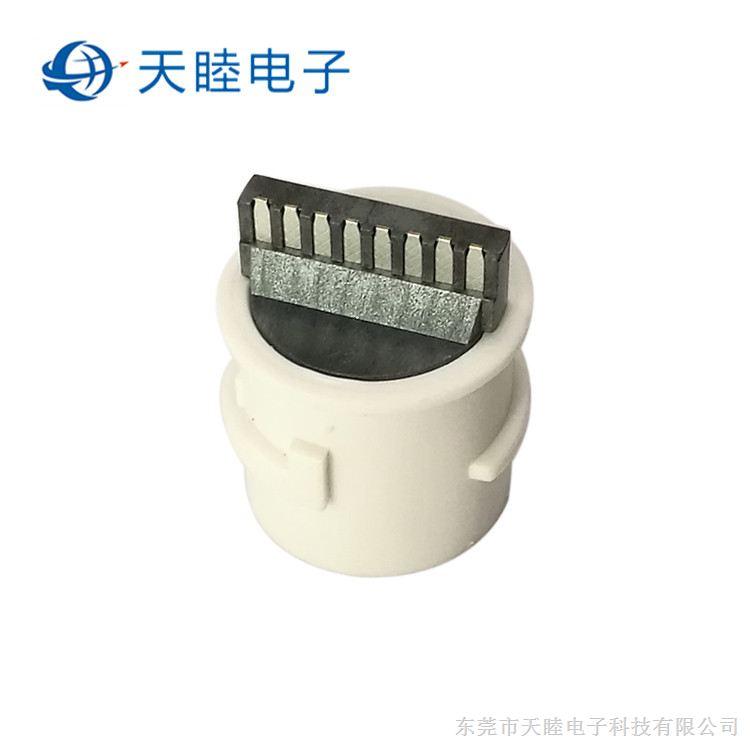 东莞厂家直销防水网线母座 焊线式RJ45连接器