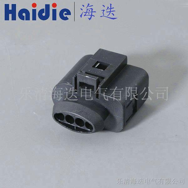 大众汽车4孔传感器连接器护套端子1717893防水接插件公母