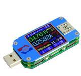 UM25C 高精度USB彩屏测试仪 电压电流电阻测量Type-C仪表 SL