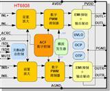 HT6808D类音频功率放大器