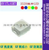 贴片LED3528红光蓝光绿光LED发光二极管灯珠