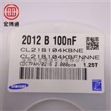 三星贴片电容nf 104kb
