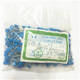 高压瓷片电容2KV103M 20% 10NF 蓝色
