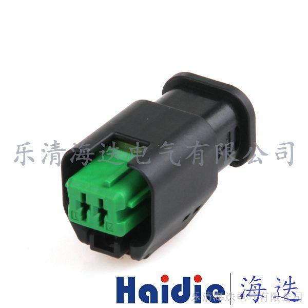 1801175-5宝马mini发动机风扇水温感应器2p插头_汽车