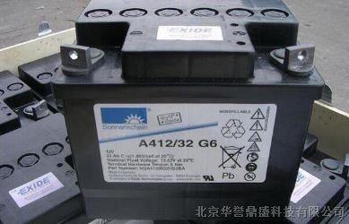 阳光蓄电池 A412-32G铅酸免维护