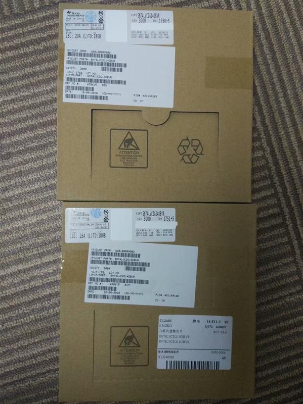 供应74系列逻辑芯片 SN74LVC2G14DBVR