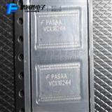 缓冲器和线路驱动器芯片74VCX16244MTDX TSSOP-48 ON 全新原装正品