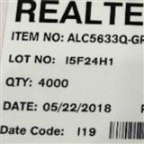 ALC5633Q-GRT音频DAC +耳机放大器realtek