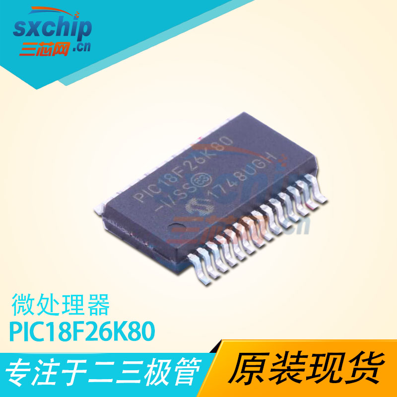 PIC18F26K80-E/SS