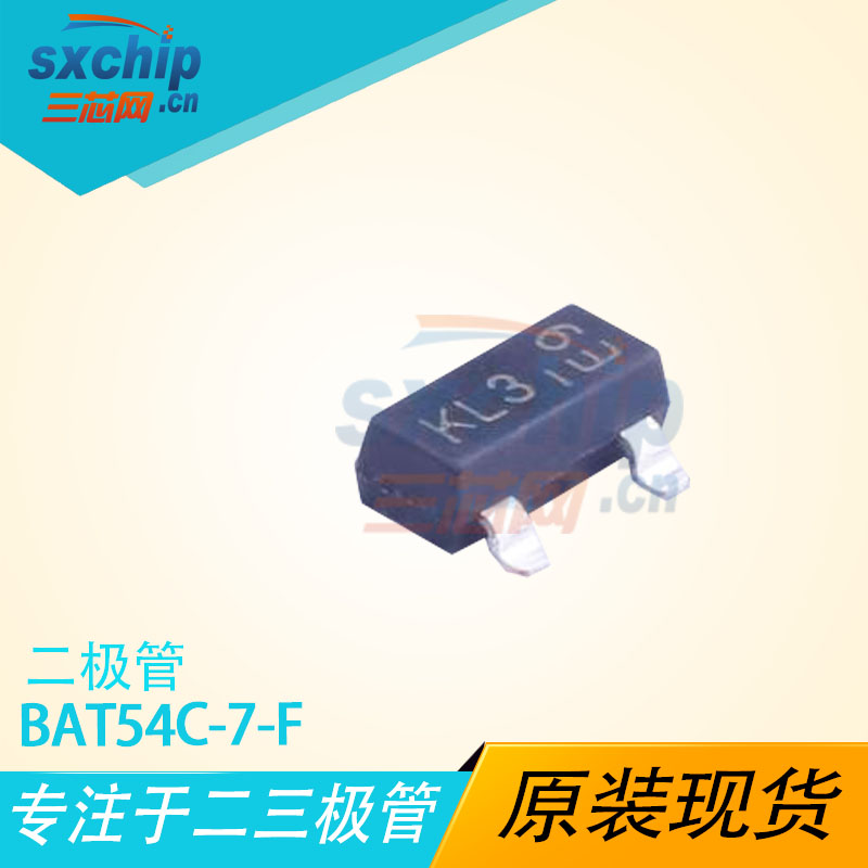 BAT54C-7-F