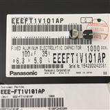 EEE-FT1V101AP 铝质电解电容器 Panasonic/松下进口原装现货 修改