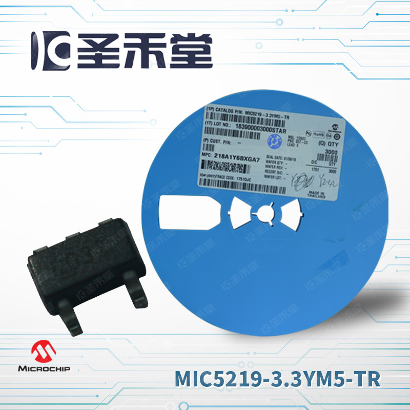 MIC5219-3.3YM5-TR