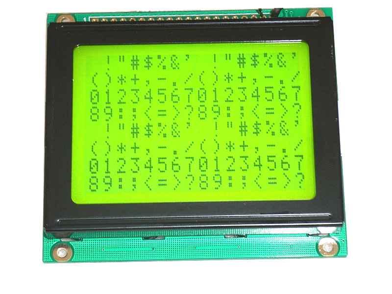 供应YM12864F兼容液晶模块