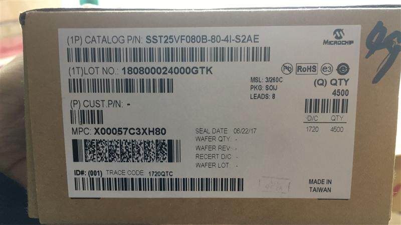 SST25VF080B-80-4I-S2AE