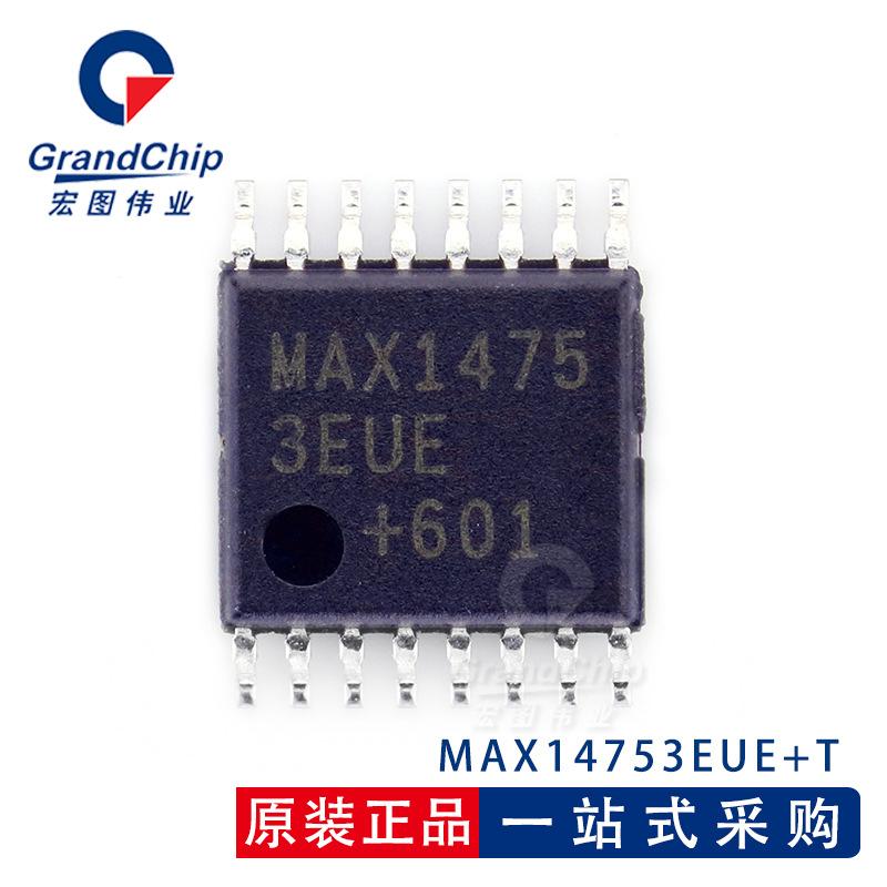MAX14753EUE+T