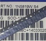 贴片肖特基二极管1N5819W (S4) 1N5817W SOD-123FL封装