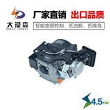 大漠森电动车增程器48v4KW分体式汽油发动机