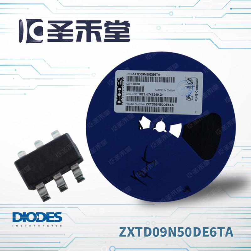 ZXTD09N50DE6TA