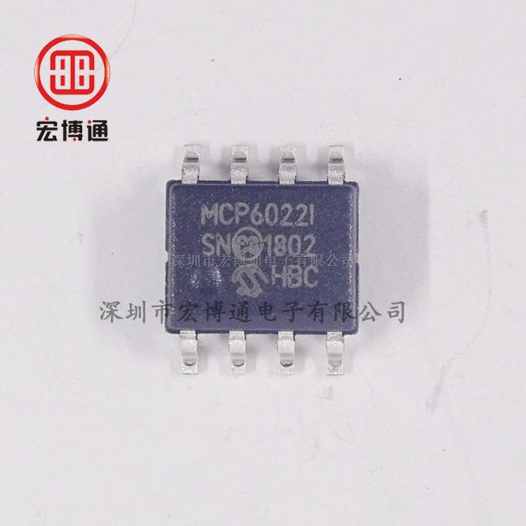 MCP6022-I/SN