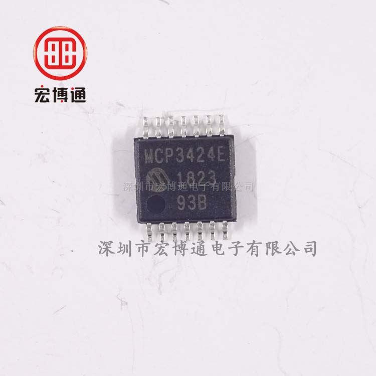 MCP3424-E/ST