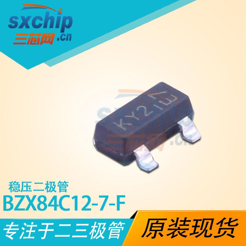 BZX84C12-7-F