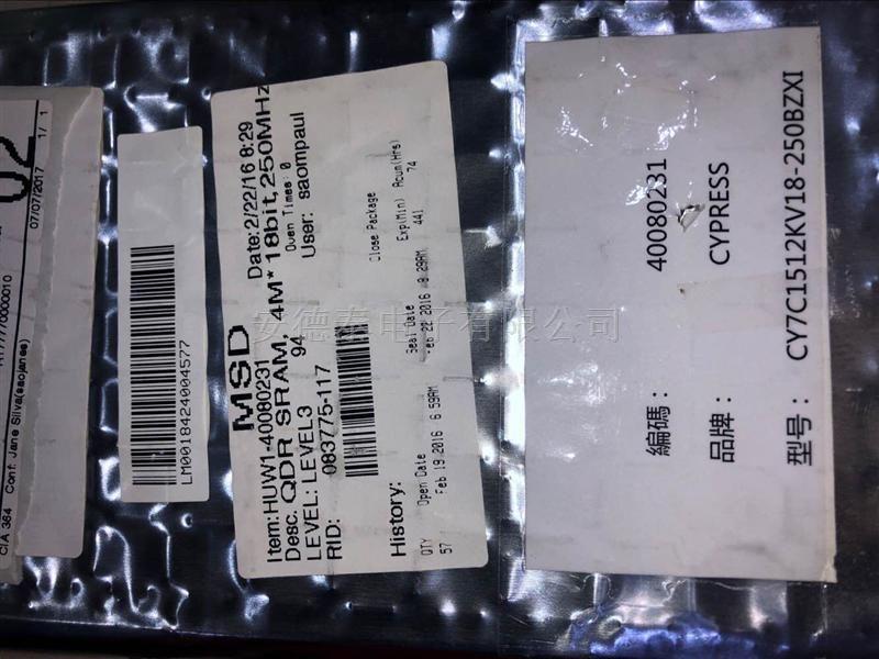 CY7C1512KV18-250BZXI