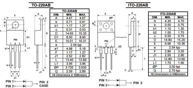 SBR10100CT肖特基二极管生产厂家 现货