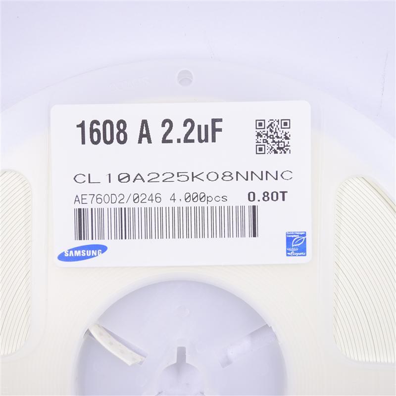 0603 X5R 2.2UF 16V 10%
